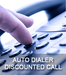auto dialer discounted call