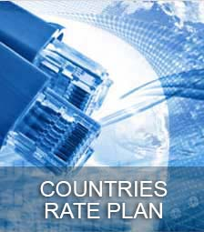 countries rate plan